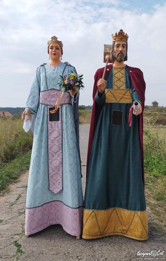 Gegants reis de la Font del Ros - Berga