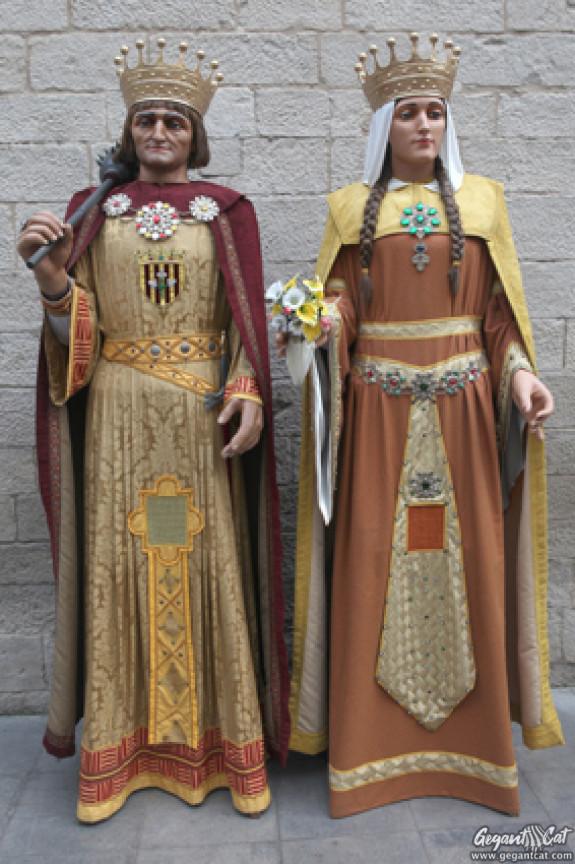Gegants Reis de la Paeria de Lleida