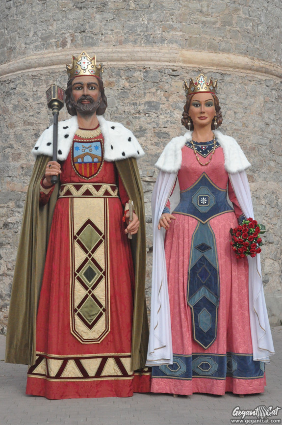 Gegants Reis de Sallent