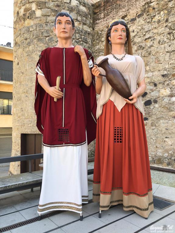Gegants romans de Caldes de Malavella