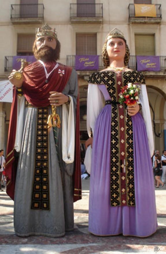 Gegants Vells de la Vila de Sitges