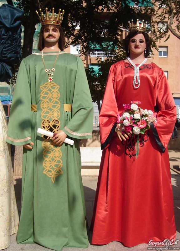 Gegants Vells del Carrer Merceria de Tarragona