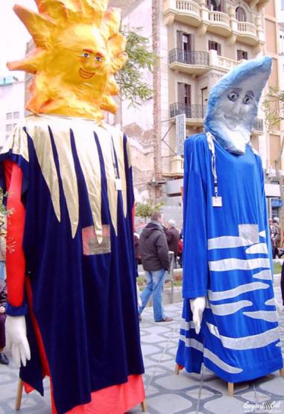 Gegants Vells del Col·legi de les Dominiques de Tarragona