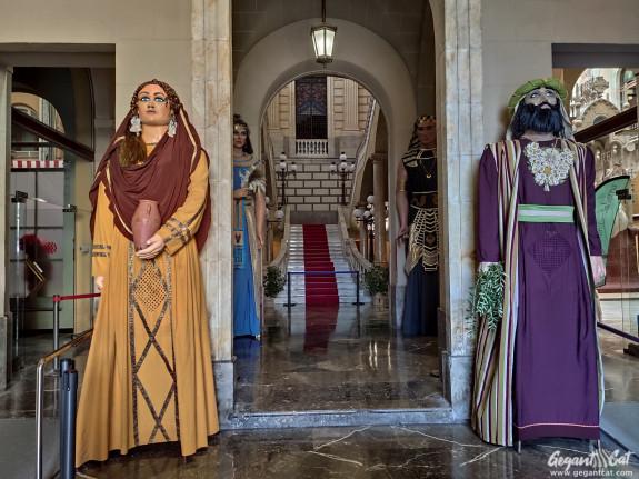 Gegants Vells o Hebreus del Passeig Torroja de Tarragona