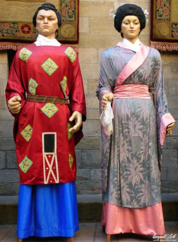 Gegants Xinesos de la Paeria de Lleida